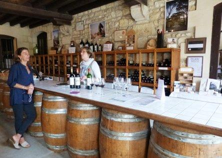 bordeaux wine tasting