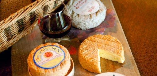Burgundy cheeses