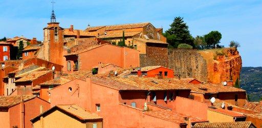 Roussillon in Luberon